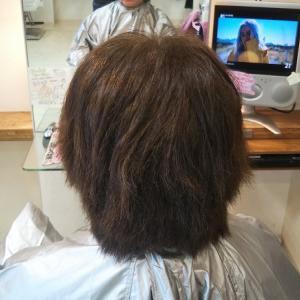 22年間3ヶ月に一度縮毛矯正をしている髪は!