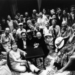 看板女優89歳、平均年齢75歳の高齢者劇団「さいたまゴールド・シアター」のドキュメンタリーを観る。