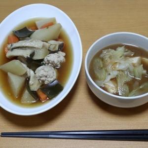 鶏団子の煮物