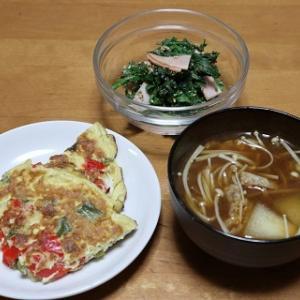 彩り野菜のオムレツ