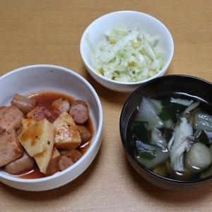 たけのこと高野豆腐のトマト煮