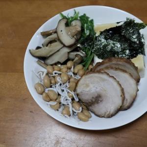 煮豚ワンプレート