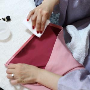 絹の着物の「しみ抜き」が家でできるって本当?