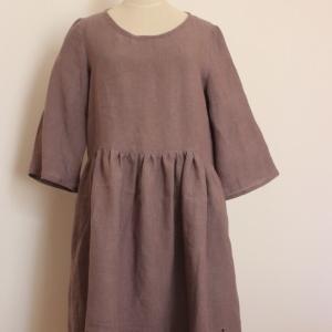 脳神経外科へ&安田商店で買ったリネンで服作り