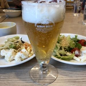 体動かして昼ビール