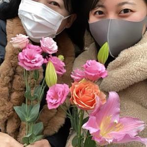 お花をどうぞ!