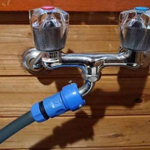たまにしか使わない水栓にご注意な季節
