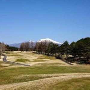 軽井沢で初ゴルフ