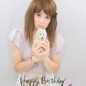 いちごハナちゃんとお誕生日記念のプリクラ撮りました