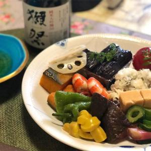 和久傳の夏野菜と彩りオードブル