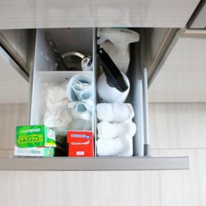 キッチン消耗品、種類を絞るといろいろとラク!