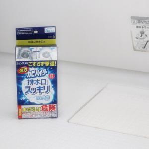 【お風呂掃除】CMのあの洗剤を使ってみた!