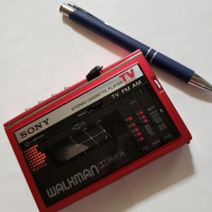 カセットテープのウォークマンの思い出