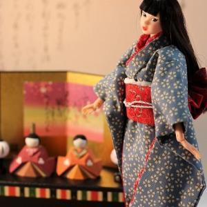 momokoとrurukoのひな祭り