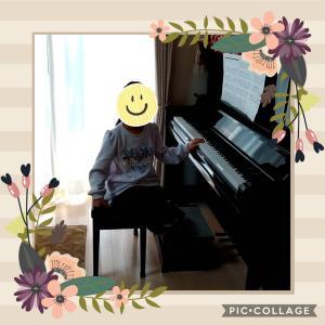 ピアノが届いた
