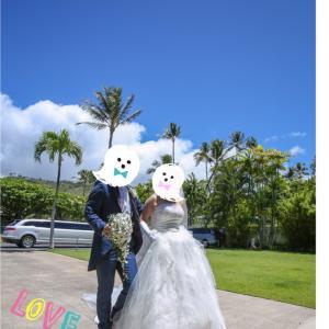 ハワイで結婚式「彼が私の心を開いてくれた」