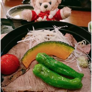 *TDS:レストラン櫻のローストビーフ丼♪