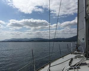 琵琶湖ヨットセーリングが本格的に
