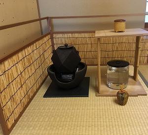 尚歌棚と洗い茶巾