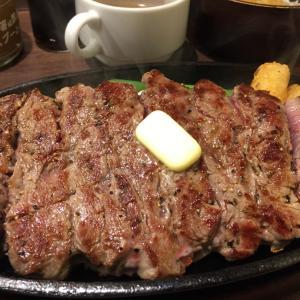 「1ポンドのステーキハンバーグ タケル」でステーキランチ@上野