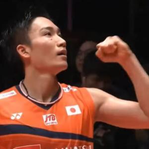 バドミントンワールドツアーファイナルズ2019!シングルス男子で桃田選手が優勝!強え!