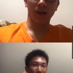 桃田選手と渡邉選手、インスタライブで奈良岡航大選手について語る!
