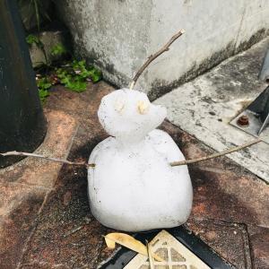 雪だるまミニ^ ^
