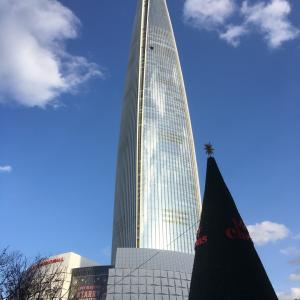 11月韓国旅行/ロッテワールドタワー展望台