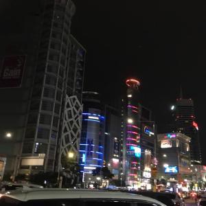 7月おひとり様韓国②/東大門で夜のショッピング
