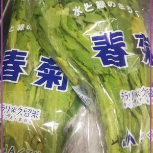 【簡単】春菊のおいしい食べ方レシピ【ゆでてオリーブオイル塩コショウかけるだけ】