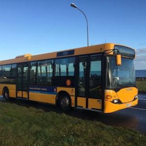 アイスランドの公共バスが普通に戻った!