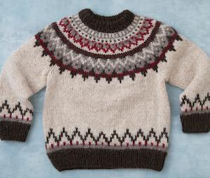 アイスランドセーターの編み会は、アイスランドと日本を繋いでの国際プロジェクト!