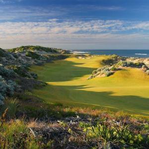 パース近郊のゴルフ場→The Cut Golf Course