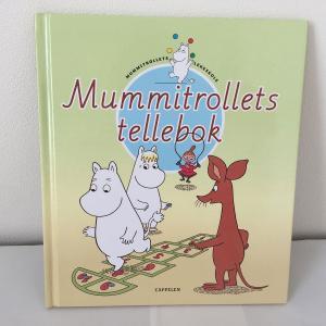 17.Mummitrollets tellebok ムーミンの数字を学ぼう ノルウェー語