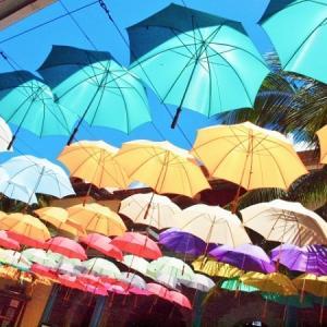 40代から70代の男性が購入するという人気の折りたたみ日傘をアマゾンと楽天で探してみました