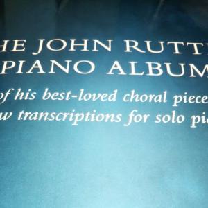 ラターのピアノ曲集