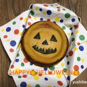 HAPPY HELLOWEEN南瓜のケーキ♪ヨックモック