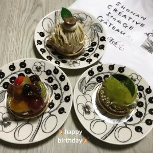 お気に入りのお店deお誕生日ケーキ♪