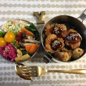 大好評な鶏のから揚げ弁当〜♪