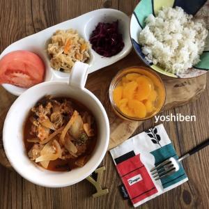 自分用簡単スープライスお弁当♪&朝ごはん