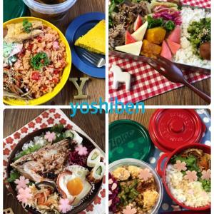 お弁当おまとめ&今回のNo.1☆4月2日〜9日