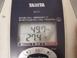 体重ー7月④