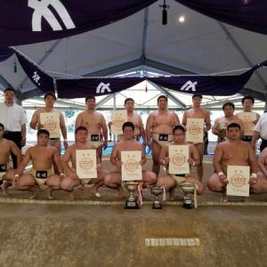 四国四県対抗相撲選手権大会の結果