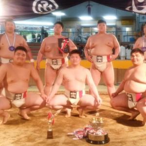 第36回全日本大学選抜相撲宇和島大会の結果