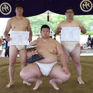 愛媛県相撲選手権大会の結果