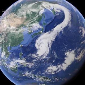 昨日の19号の台風大きかったのには理由があります。