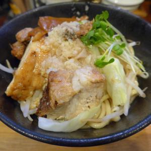 麺座ぎん (堺東) 大人気ラーメン店の特製油そば!