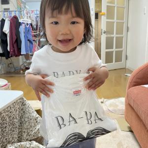 またまた親バカ!家族でお揃いTシャツを作りました。