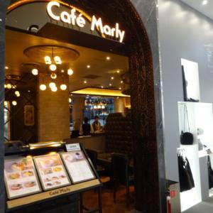 渋谷PARCO CafeMarly ふわふわのスフレ