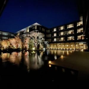 京都 HOTEL THE MITSUI KYOTO の夜
